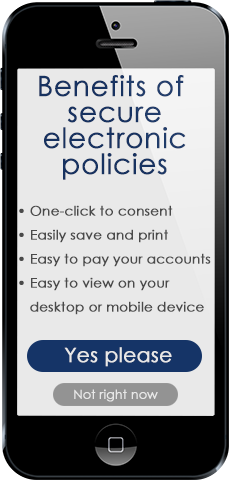 Benefits of electronic policies