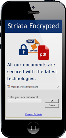 Secure encrypted documents