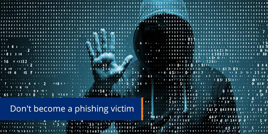 Dont Become A Phishing attack Victim