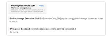 From address Screenshot