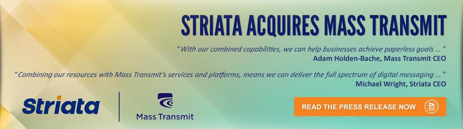 Striata acquires Mass Transmit