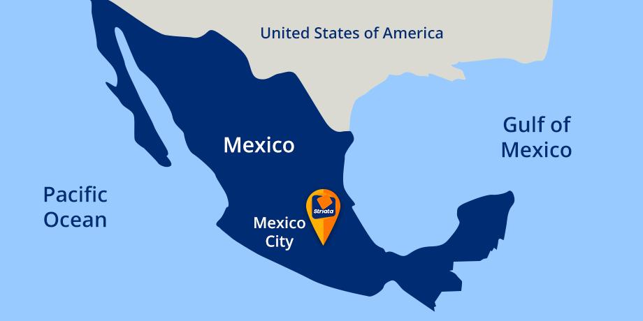 Striata in Mexico