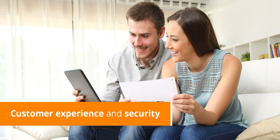Customer experience and security