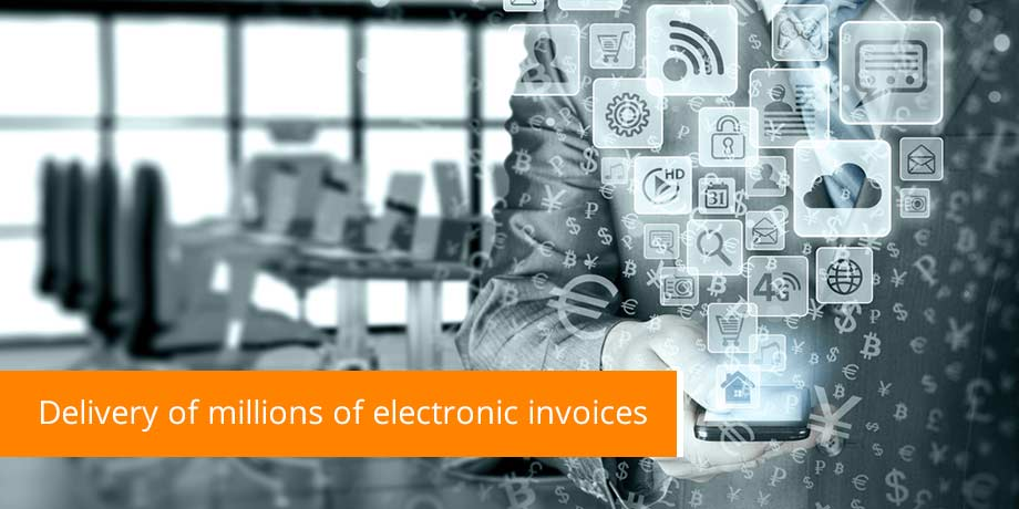 Delivery Of Millions Of Electronic Invoices