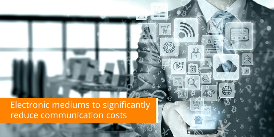 Electronic Customer Communication Applications