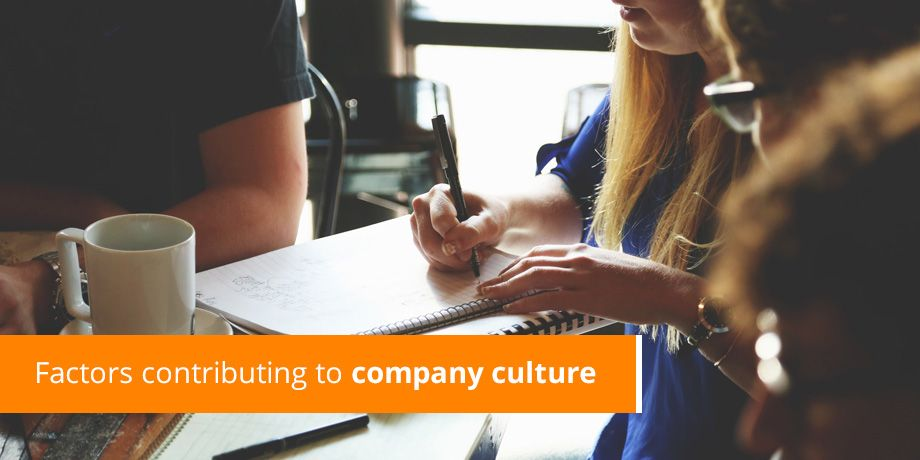 Factors contributing to company culture