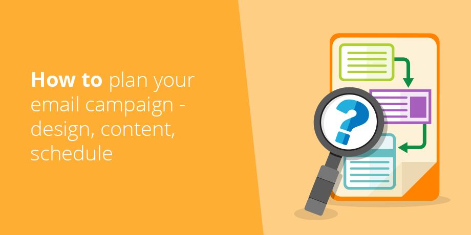 The complexity of email - Plan email campaign