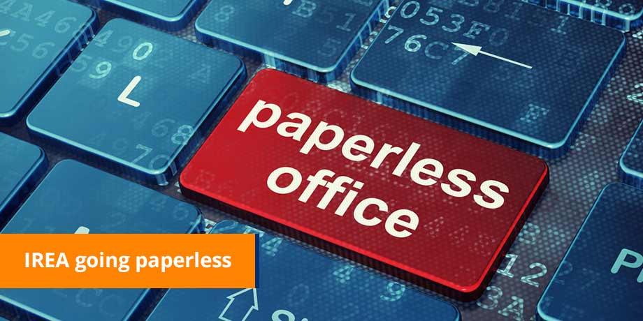 IREA Going Paperless