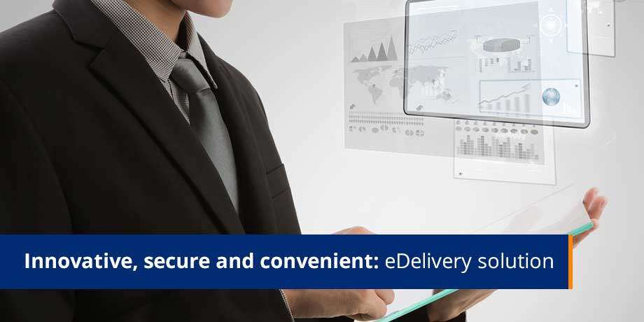 Innovative Secure And Convenient eDelivery Solution
