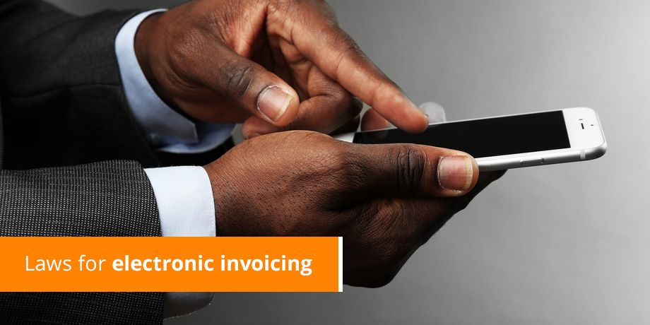 Laws for electronic invoicing
