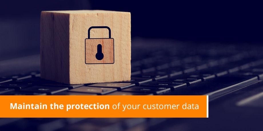 Security measures for your eDocument data