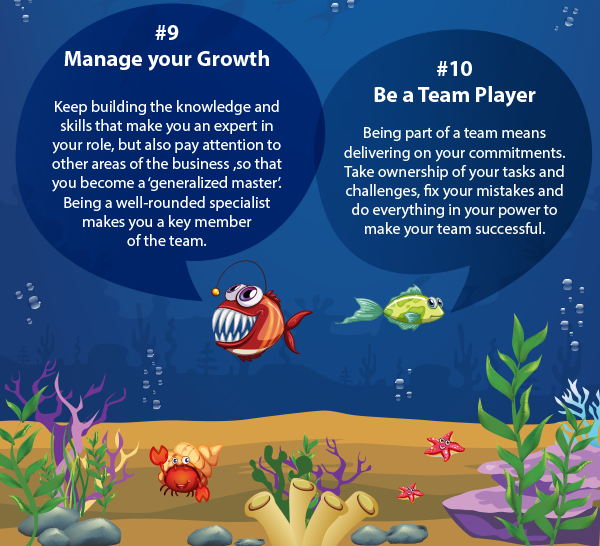 Manage Your Growth And Be A Team Player