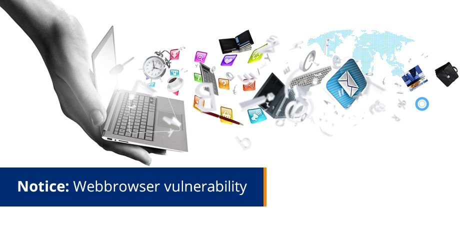 Notice - web browser vulnerability