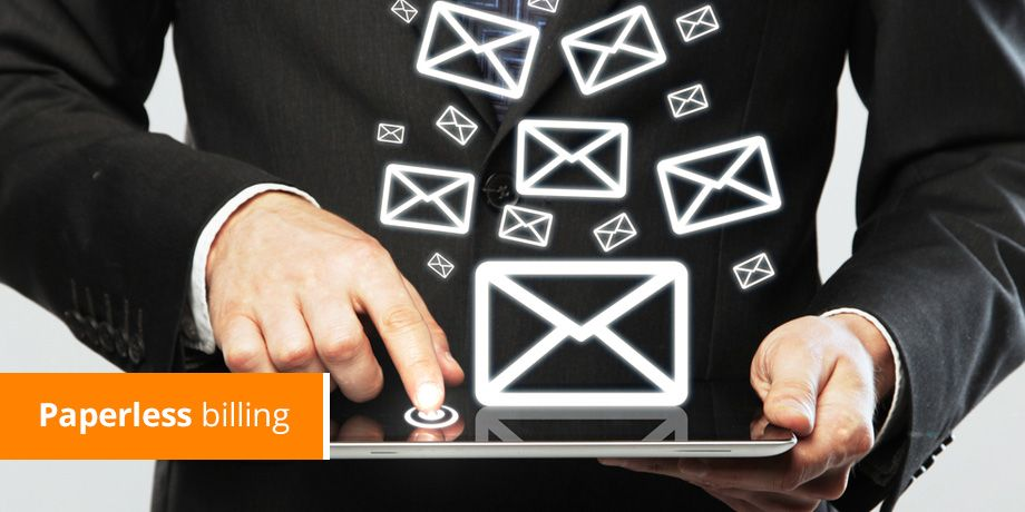 How email can help you with paperless billing adoption