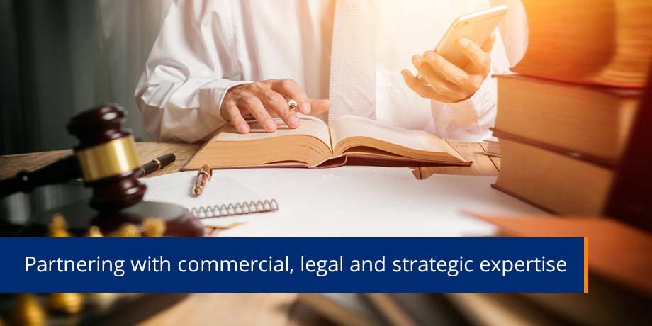 Partnering With Commercial Legal And Strategic Expertise