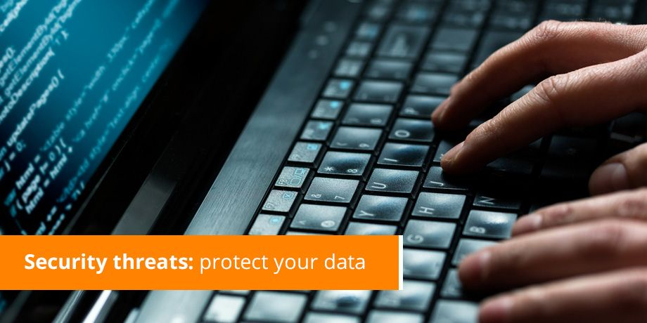 Security threats - protect your data