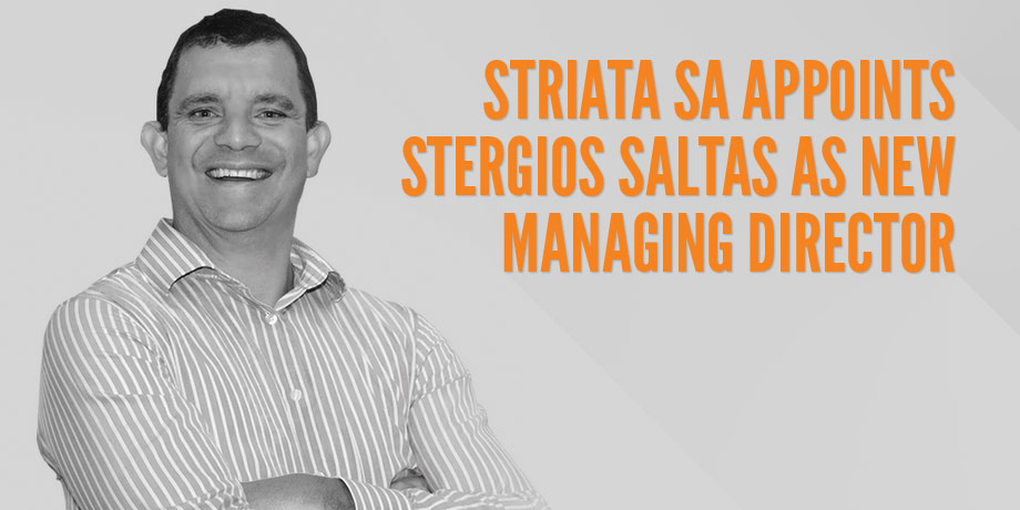 Striata SA appoints Stergios Saltas as new Managing Director
