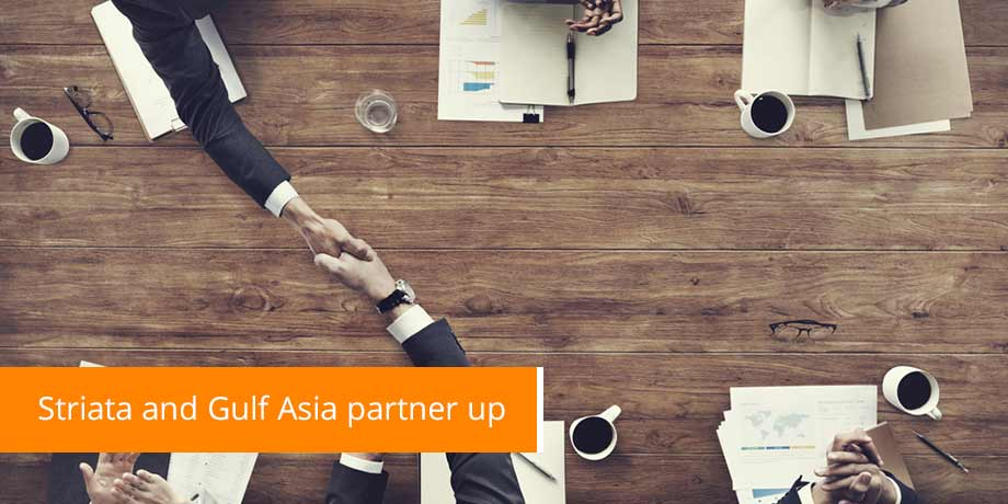 Striata And Gulf Asia Partner Up