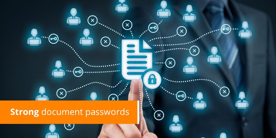 Strong document passwords