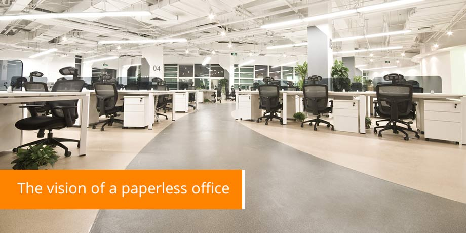 The Vision Of A Paperless Office - Save a tree with Striata eBilling