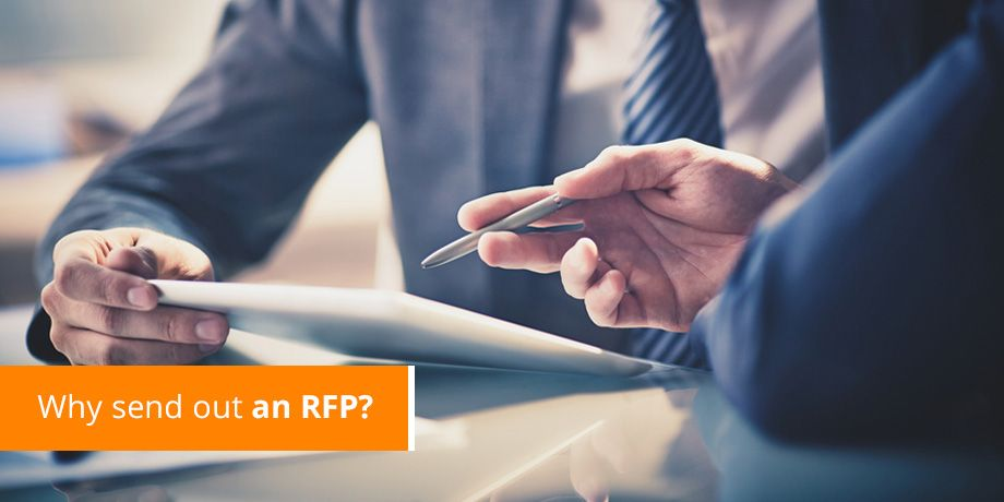 Why send out an RFP