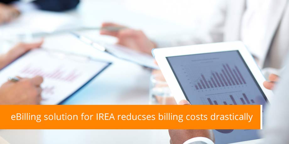 Striata eBilling solution to reduce IREA billing costs by 80%
