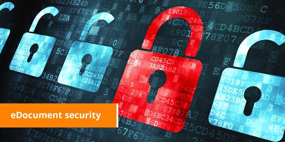 eDocument security