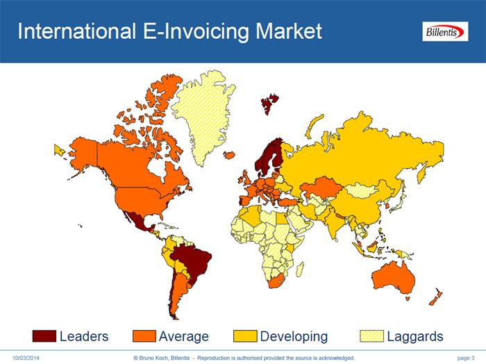 International E Invoicing Billentis 2014