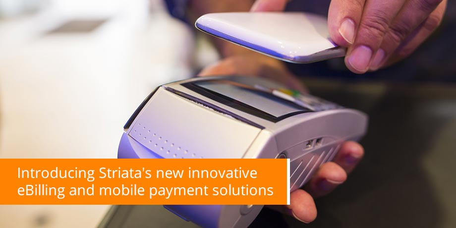 Striata launches Interactive PDF Bill and mobile one click payment at Finovate