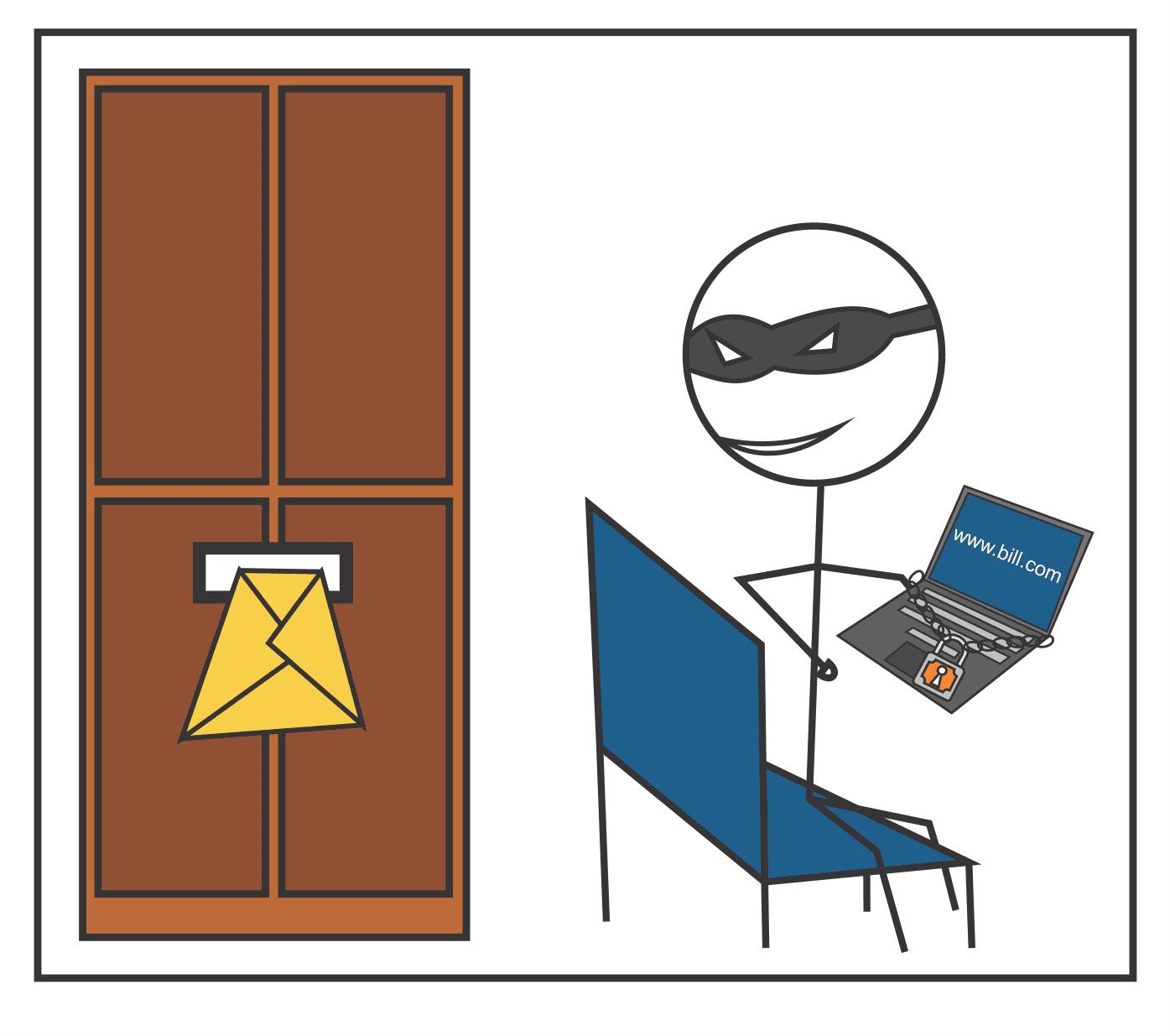 Thief comic strip