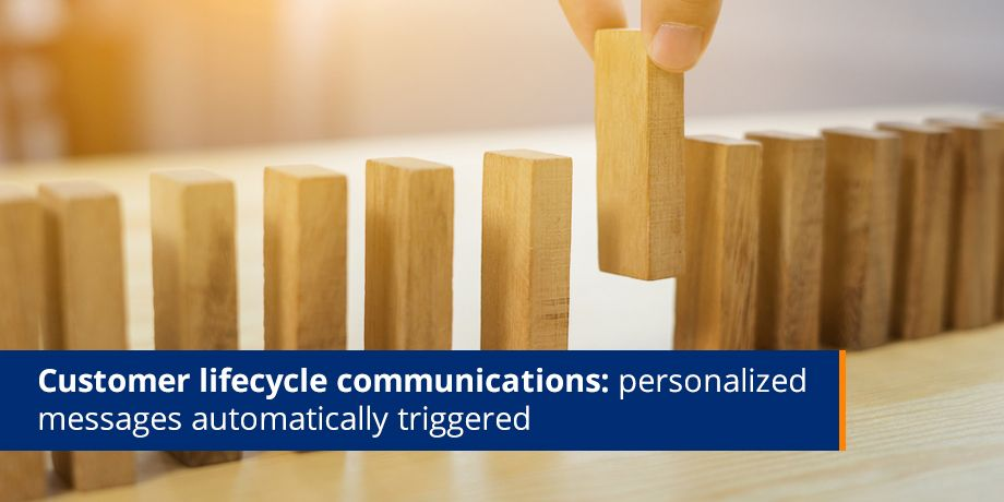 Customer Lifecycle Communications Personalized Messages Automatically Triggered