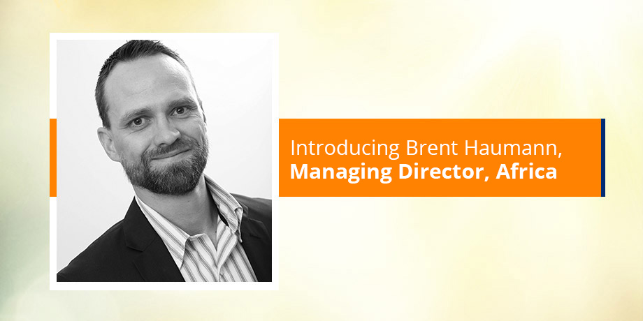 Introducing our digital expert, Brent Haumann - Managing Director, Africa