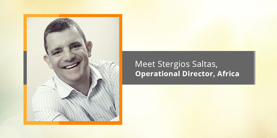Introducing our digital professional, Stergios Saltas - Operational Director, Africa