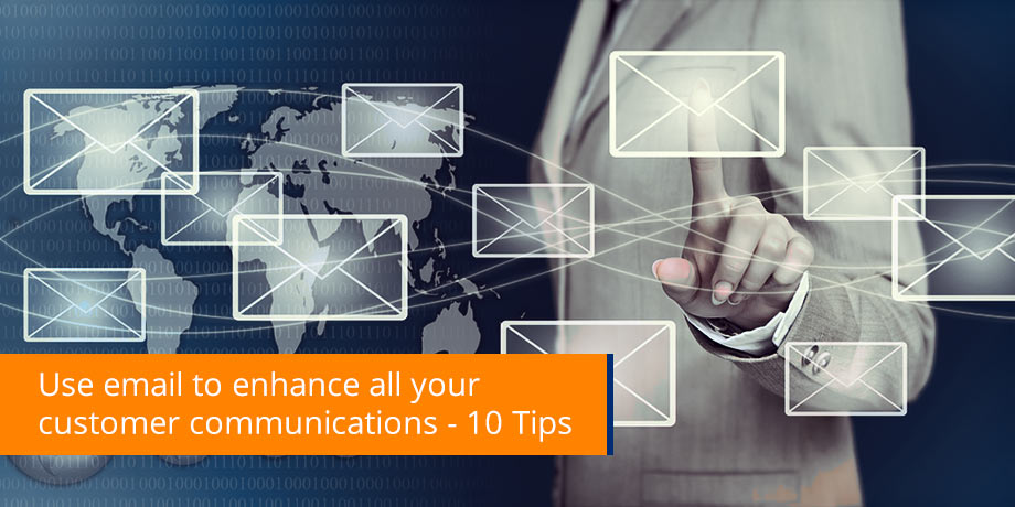 Top 10 tips for sending email as part of your CCM strategy
