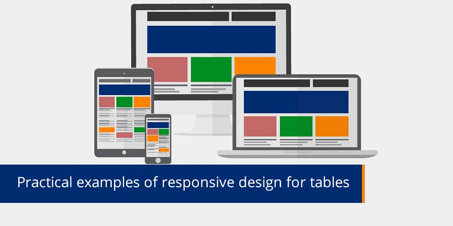 Practical Examples Of Responsive Design For Tables