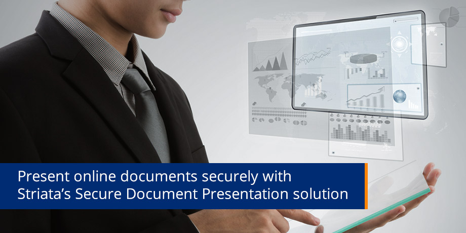 Online document presentation reinvented