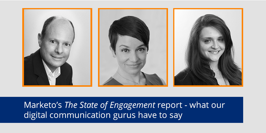 Marketo's The State of Engagement report has us all a'twitter