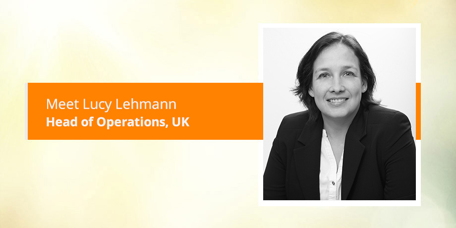 Meet our operational guru, Lucy Lehmann
