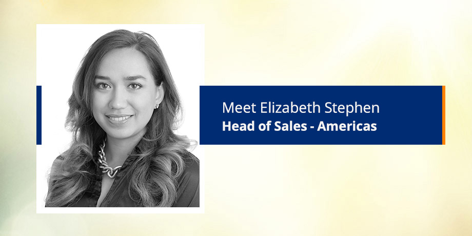 Meet Elizabeth Stephen, Head of Sales - The Americas