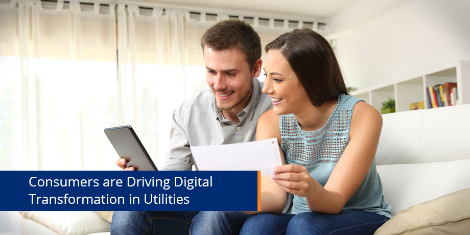 Digital transformation for utilities: what does the consumer want?