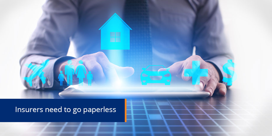 The pursuit of paperless in insurance