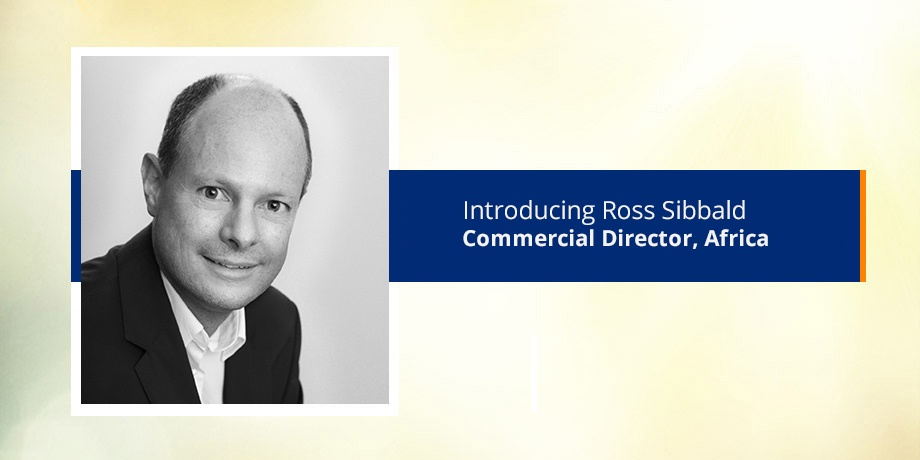 Introducing our commercial director in South Africa, Ross Sibbald