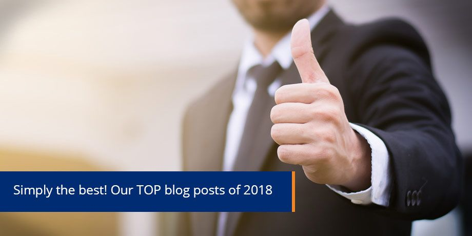 Best of 2018 - our top blog posts