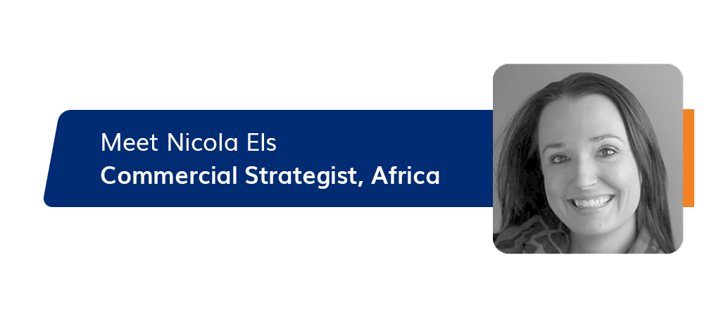 Introducing our commercial strategist, Nicola Els