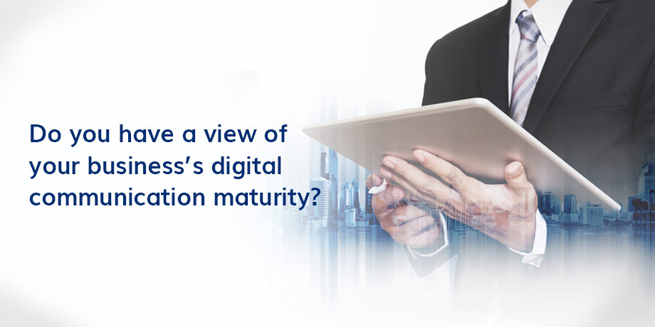 Where does your business fall on the digital maturity framework?