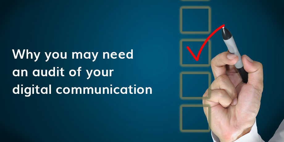 Does your digital communication need a health check?