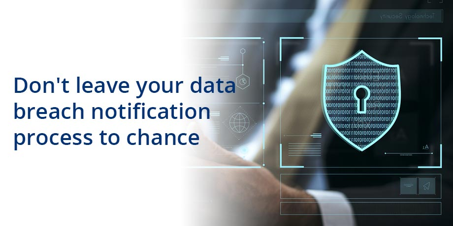 Do you have a data breach notification plan?