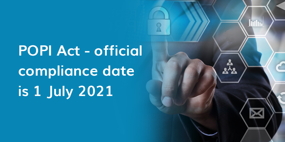POPI Act: countdown to compliance has begun